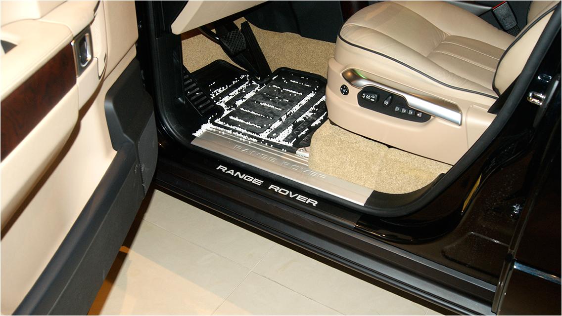 range rover l322 interior accessories door sill plates set turacs